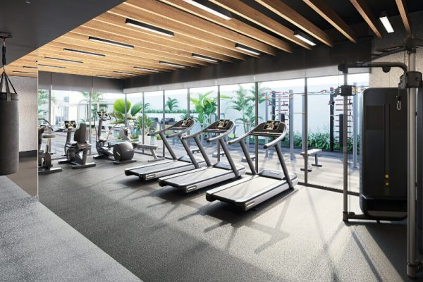 Ellington_The Sloane by BH_Interior Visual_Fitness Center