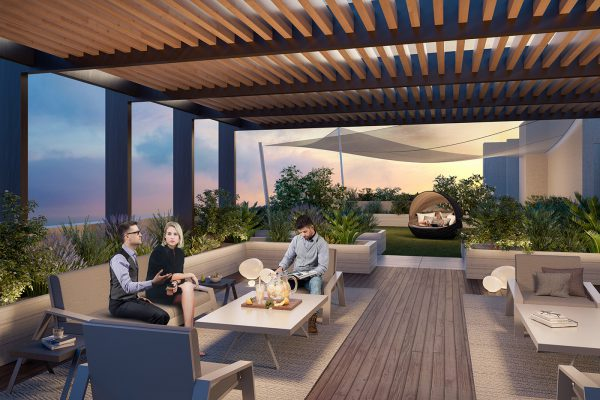Ellington_Belgravia Heights II_External Visual_Roof Terrace