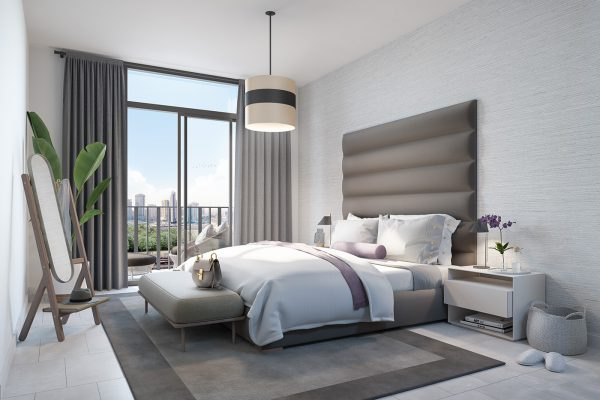 Ellington_Belgravia Heights II_Interior Visual_Master Bedroom