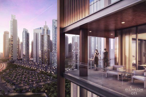 Ellington_DT1_Exterior Visual_Balcony 2