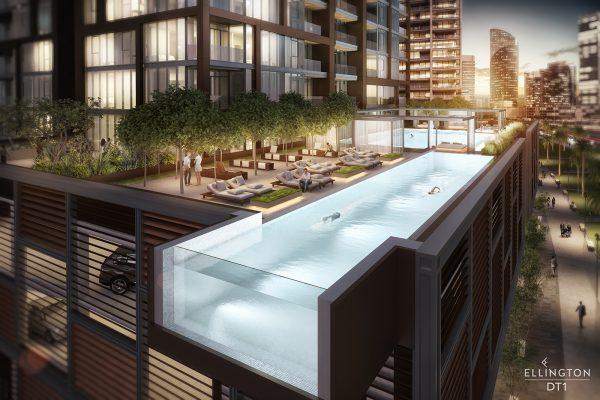 Ellington_DT1_Exterior Visual_游泳池
